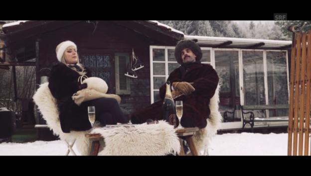Video «Chic im Schnee: Ruhe» abspielen