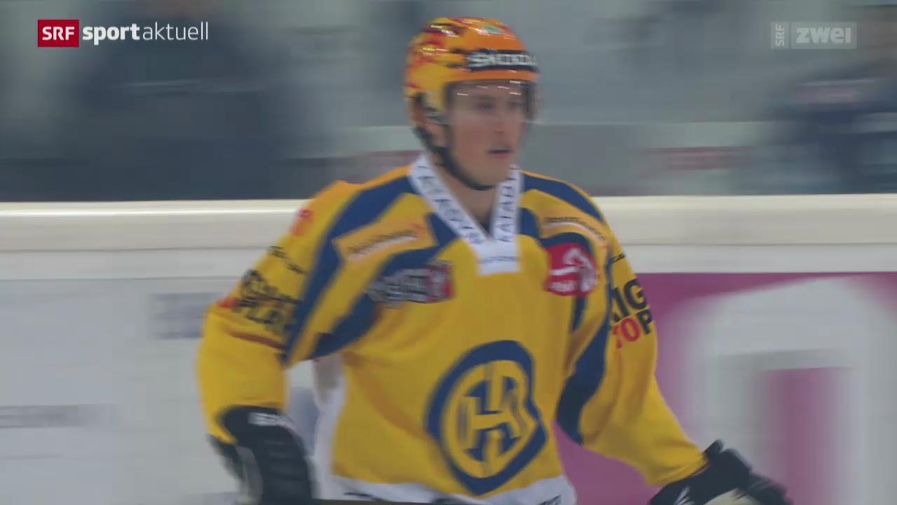 Eishockey: NLA, Rapperswil - Davos