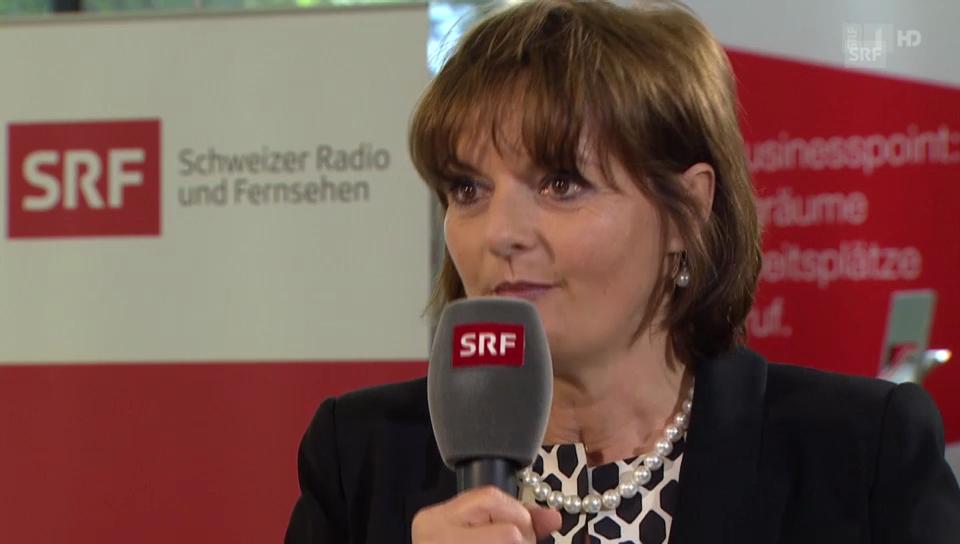 Alt Bundesrätin Metzler zur Blocher-Abwahl