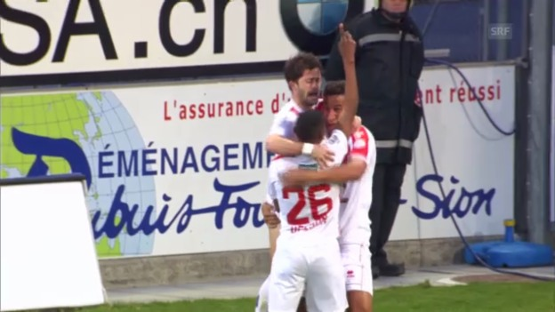 Video «Sion - Luzern («sportaktuell»)» abspielen