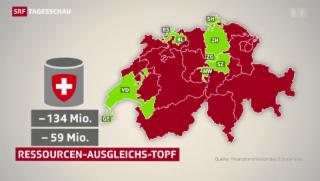 Video «Ständerat: Keine Entlastung reicher Kantone im Finanzausgleich» abspielen