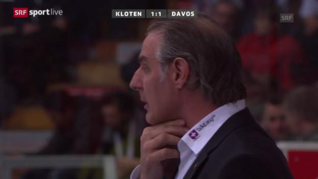 Video «Zusammenfassung Kloten-Davos» abspielen