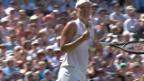 Video «Tennis: Wimbledon, Frauen-Halbfinals» abspielen