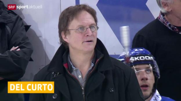 Video «Eishockey: Del Curto nicht Nati-Trainer («sportaktuell»)» abspielen