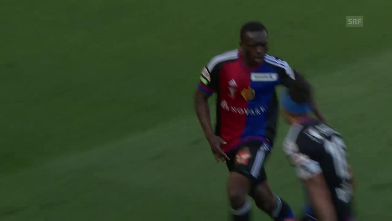 Traorés Tor im Cupfinal gegen Sion