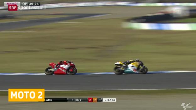Video «Motorrad: Moto2, Qualifying GP Japan» abspielen