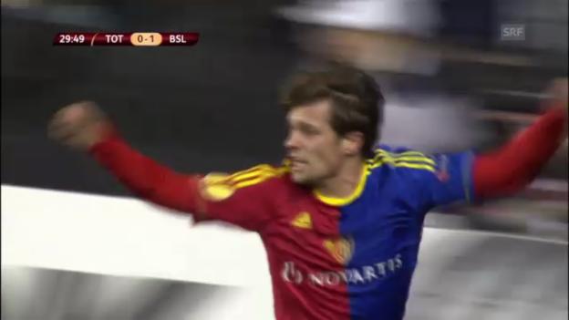 Video «Stockers 1:0 gegen Tottenham» abspielen