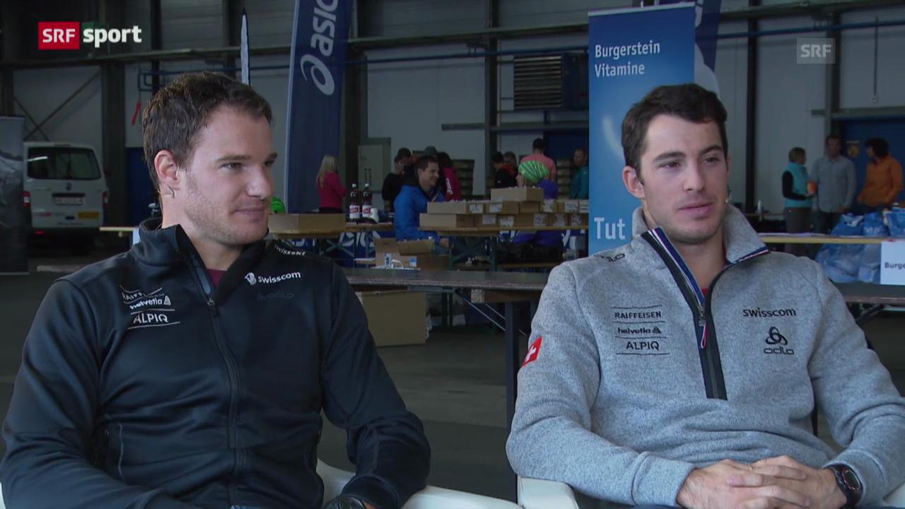 Dario und Gianluca Cologna im «sportlounge»-Gespräch