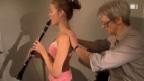 Video «Mit Muskelspannung zu besserem Klarinettenspiel» abspielen