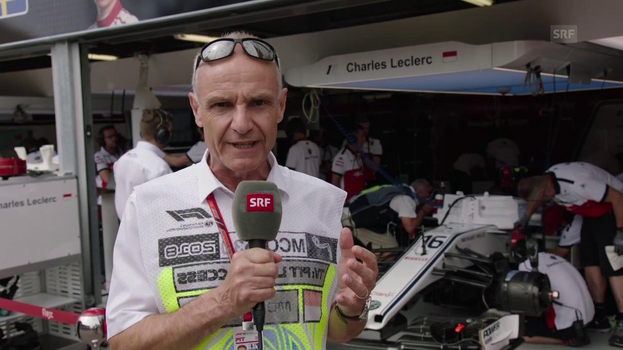 Warm-up mit Stäuble vor dem GP Monaco