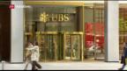 Video «Gewinneinbruch bei der UBS» abspielen