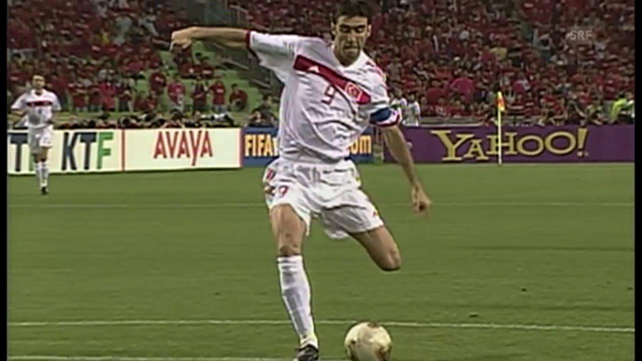 Sükürs legendäres Tor an der WM 2002
