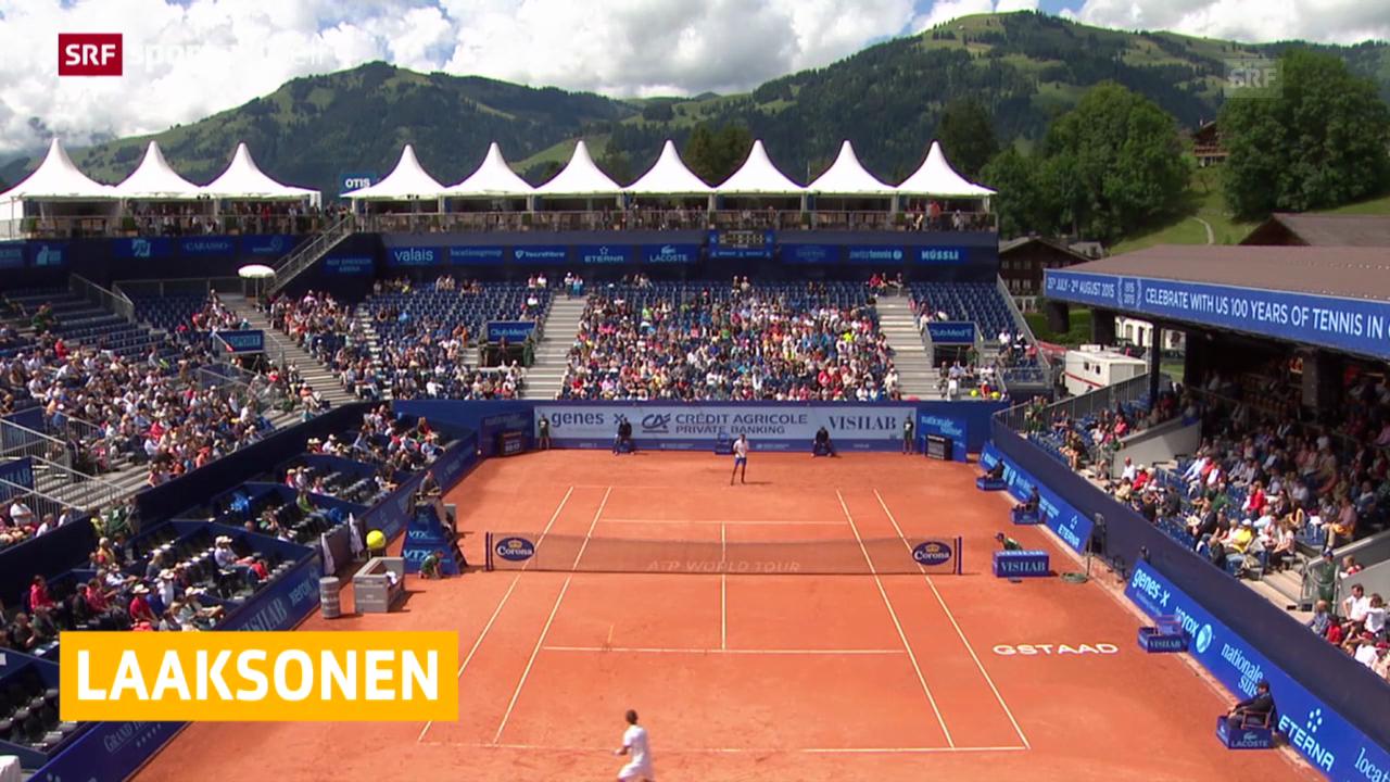 Laaksonen in Gstaad out («sportaktuell»)