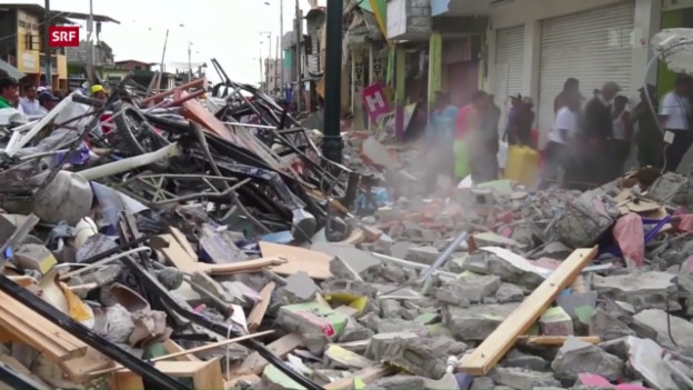 Video «Erdbeben in Ecuador» abspielen