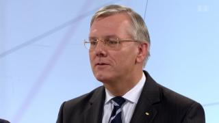 Video «Roche-Präsident Christoph Franz im «ECO»-Studio» abspielen