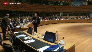Video «Schnellere Ausschaffung für abgewiesene Asylbewerber in der EU» abspielen