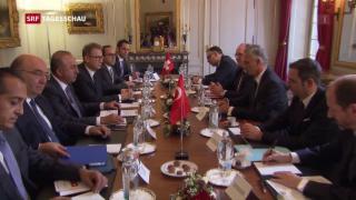 Video «Türkischer Aussenminister in Bern» abspielen