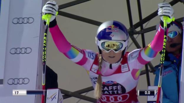 Video «Ski: Die Fahrt von Lindsey Vonn» abspielen