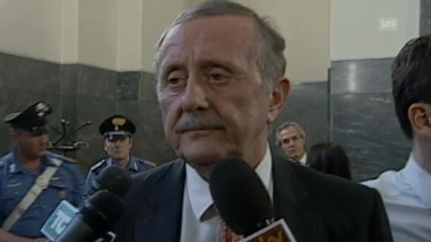 Video «Anwalt plädiert auf unschuldig» abspielen