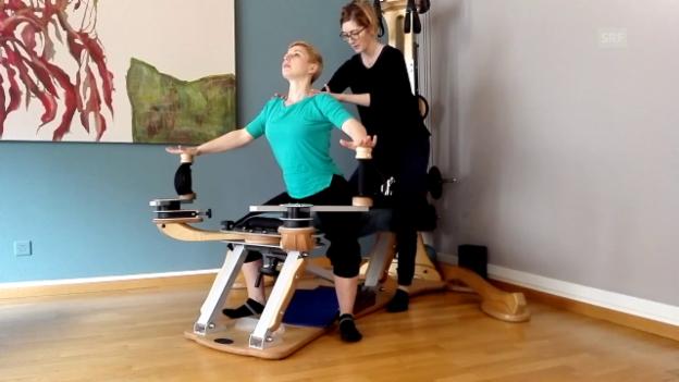 Video «Gyrotonic - ein Selbstversuch» abspielen