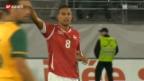 Video «Gökhan Inler vor dem Spiel gegen England» abspielen
