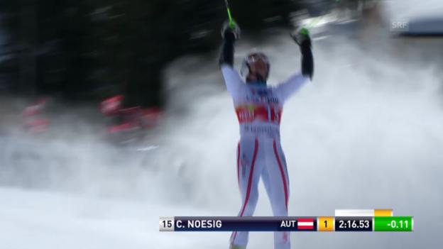 Video «Christoph Nösigs bestes Weltcup-Ergebnis (März 2013)» abspielen