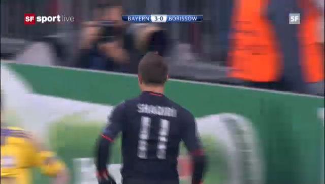CL: Bayern München - BATE Borissow