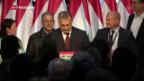 Video «Orban trotzdem zufrieden» abspielen