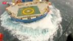 Video «Alaska droht eine Ölpest» abspielen