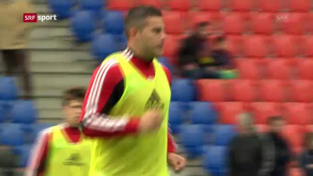Fussball: FCB reist ohne Bobadilla nach Israel («sportaktuell»)