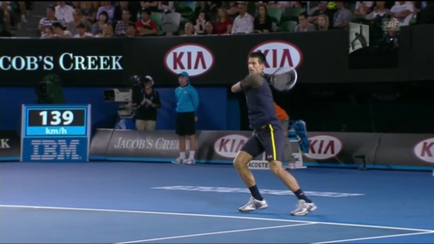 Video «Djokovic-Harrison («sportaktuell»)» abspielen