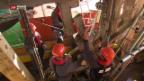 Video «Historische Holzbrücke in Olten wird nach Brand saniert» abspielen