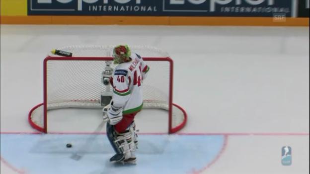 Video «Eishockey-WM: Weissrussland - Kanada (unkommentiert)» abspielen