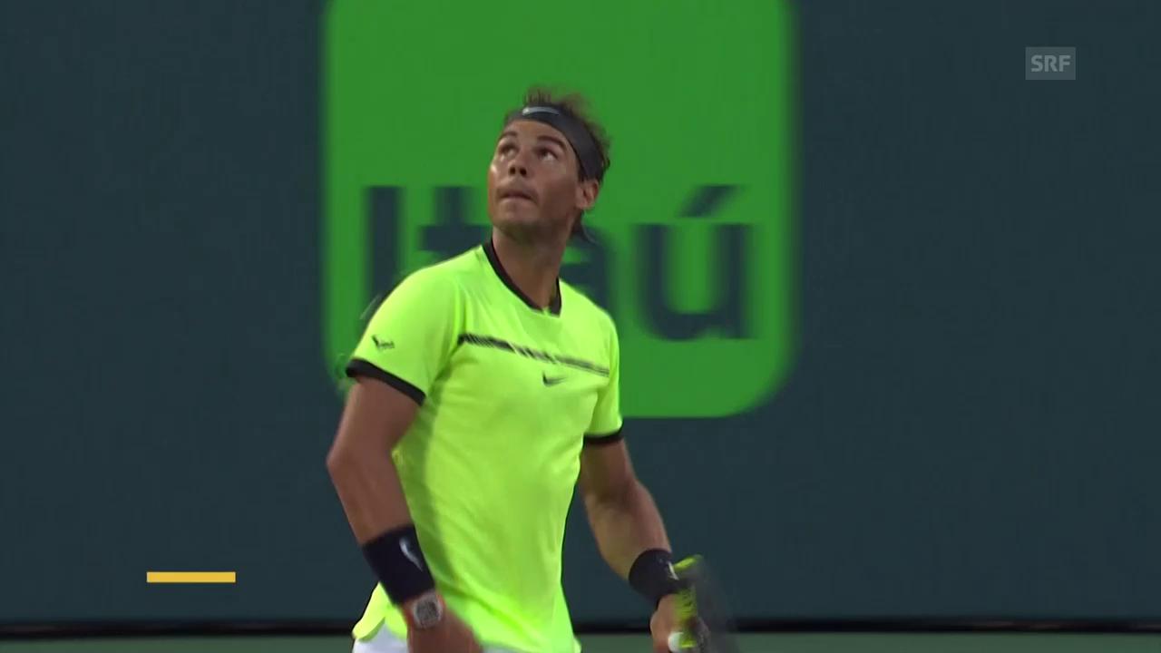 Nadal dominiert Sela (Quelle: SNTV)