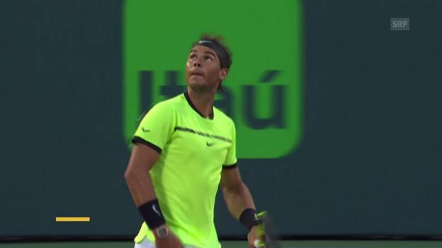 Video «Nadal dominiert Sela (Quelle: SNTV)» abspielen