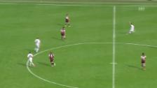 Video «Wohlens Traumtor im Cup gegen Servette» abspielen