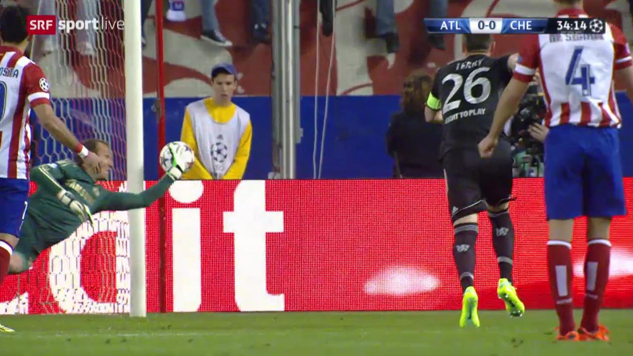Fussball: Champions Halbfinal, Highlights Atletico - Chelsea