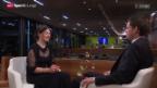 Video «Sportlerin des Jahres - Dominique Gisin im Gespräch» abspielen