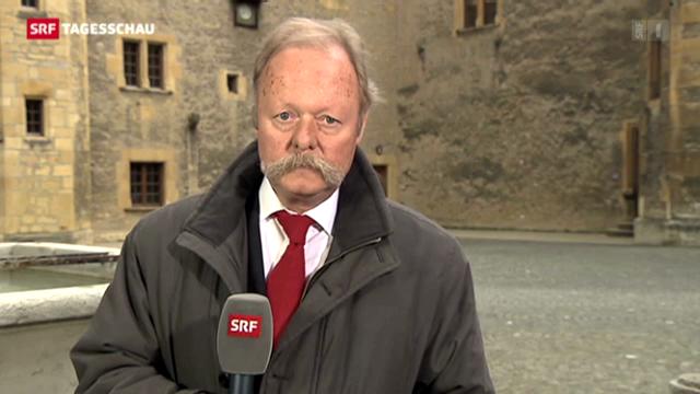 SRF-Korrespondent Bruno Bossart zur Neuenburger Staatsratswahl