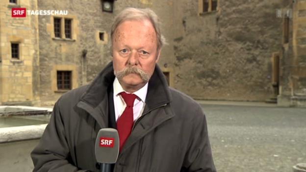 Video «SRF-Korrespondent Bruno Bossart zur Neuenburger Staatsratswahl» abspielen