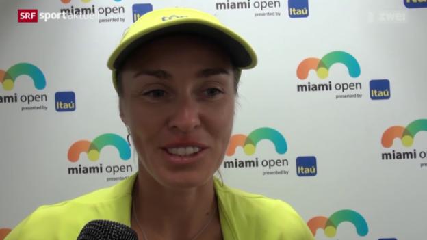 Video «Tennis: Hingis im Fed-Cup-Aufgebot» abspielen