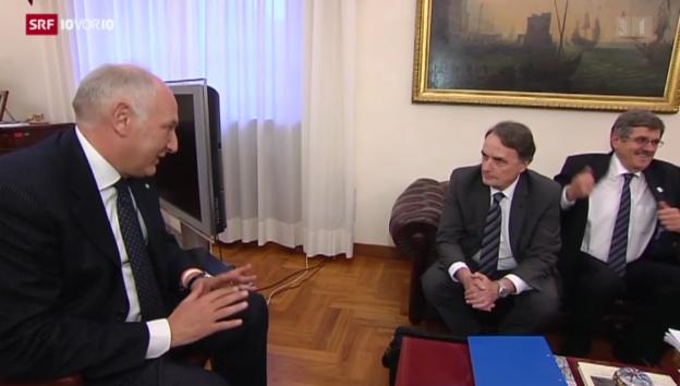 Video «Schweiz und Italien regeln die Rückschaffung» abspielen