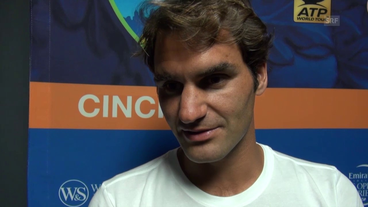 Tennis: Roger Federer im Interview