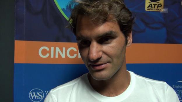Video «Tennis: Roger Federer im Interview» abspielen