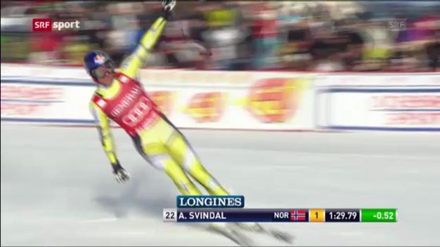 Video «Super-G in Kvitfjell («sportpanorama»)» abspielen