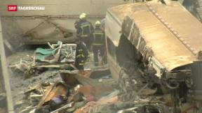 Video «Zugunglück in Spanien: Lokführer telefonierte beim Crash» abspielen