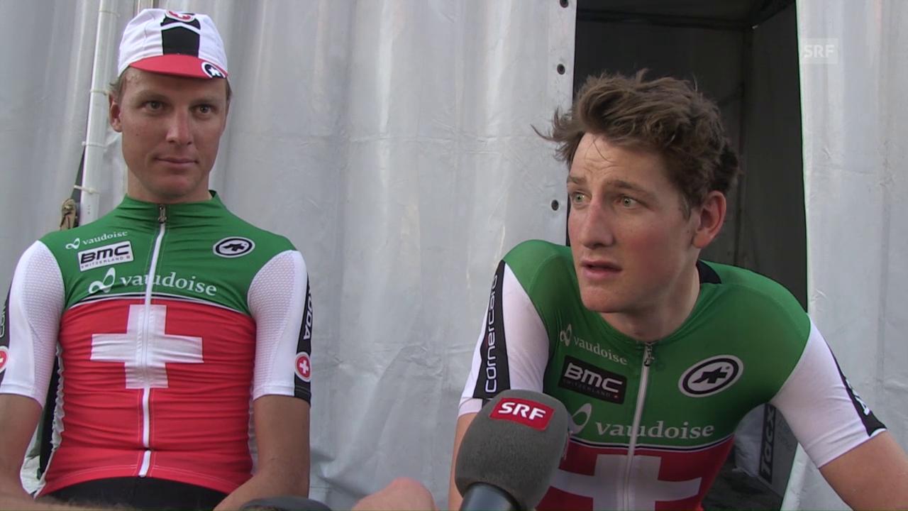 Stefan Küng und Michael Schär im Doppel-Interview