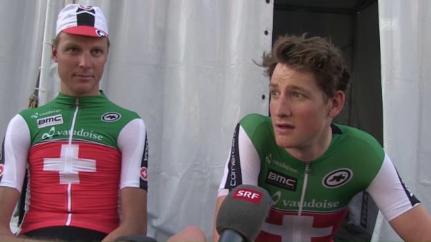 Video «Stefan Küng und Michael Schär im Doppel-Interview» abspielen