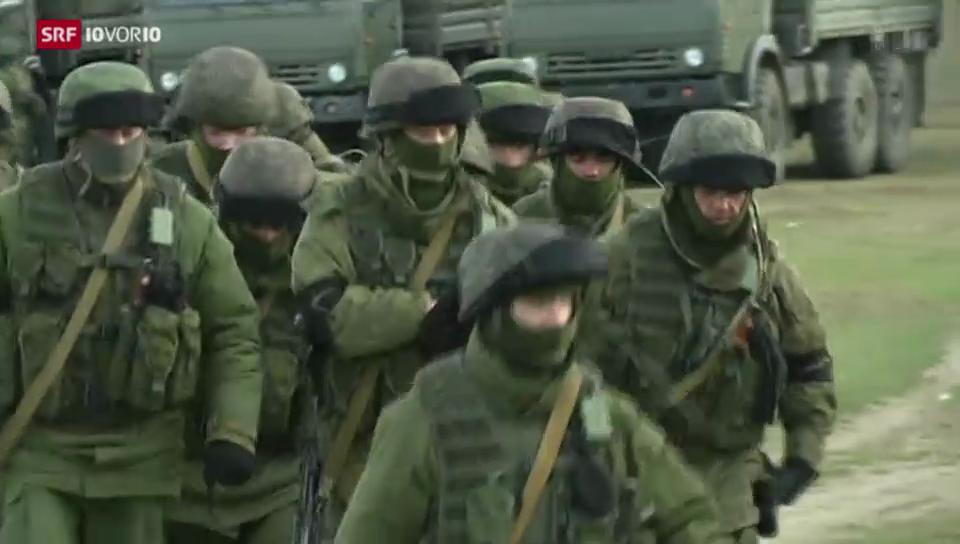 Krim will zu Russland