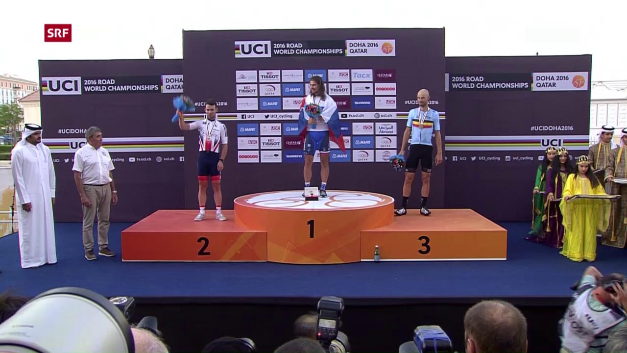 Titelverteidigung geglückt: Sagan ist Strassenweltmeister
